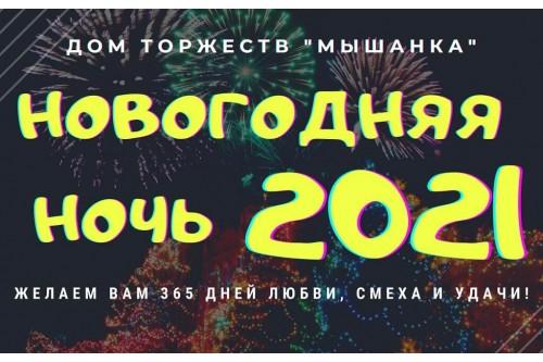 Горячая новогодняя ночь за городом Барановичи в Доме торжеств МЫШАНКА